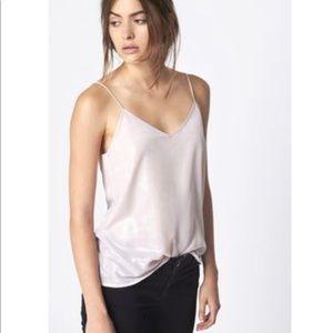 dc089308cf ... NWT Gwyneth Lavender Silk Cami M. $99 $158. NWOT Anine Bing Metallic  Pink Camisole